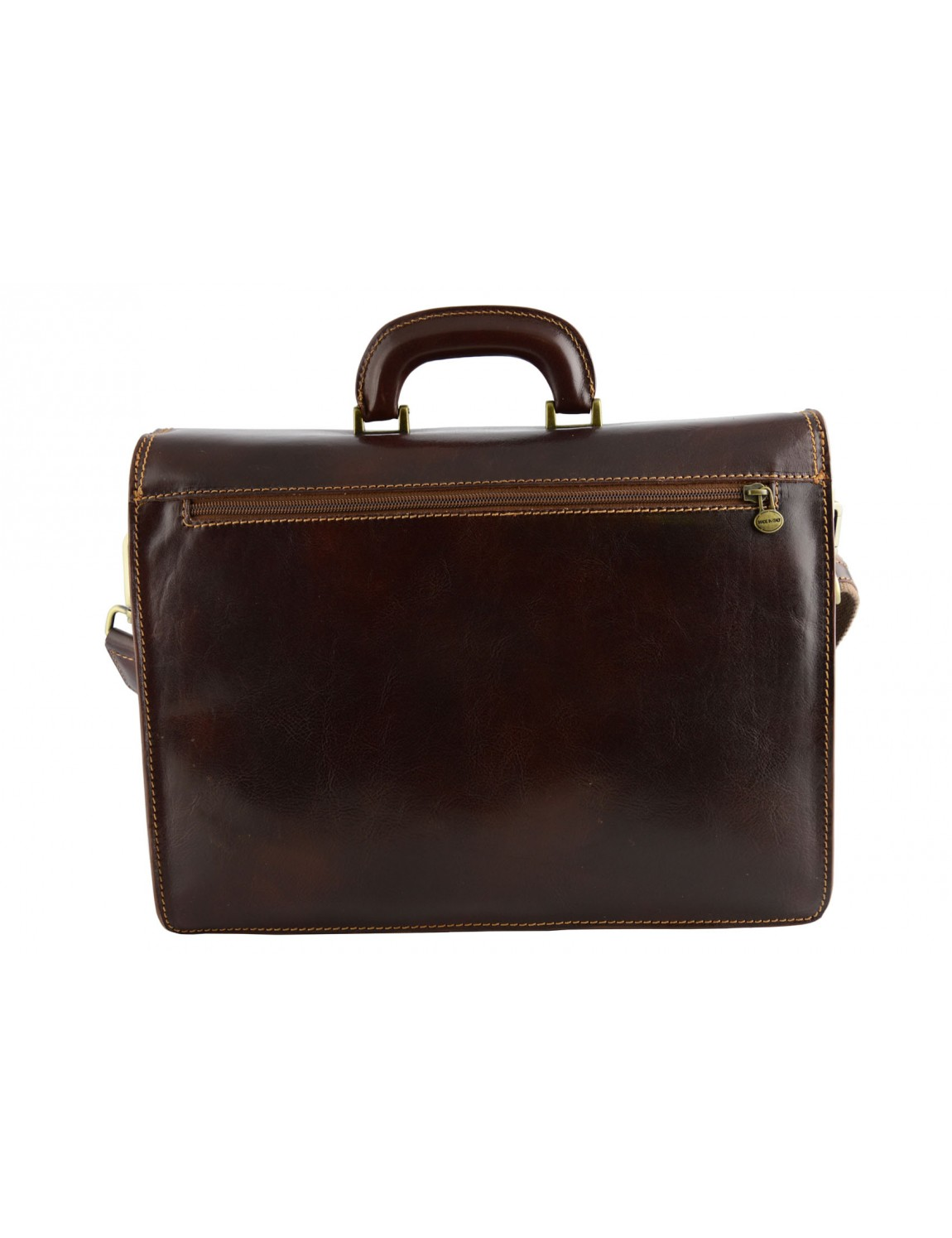 Genuine Leather Business Bag - Niello