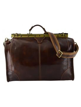 Genuine Leather Travel Bag - Eny