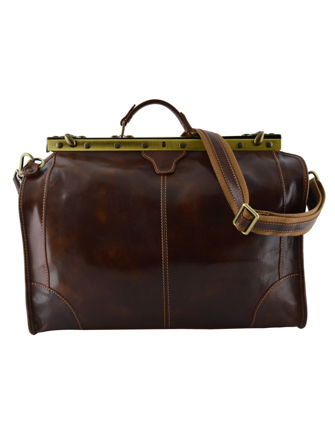 Genuine Leather Travel Bag - Eny