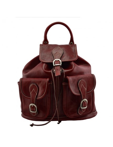 Genuine Leather Backpack - Halle