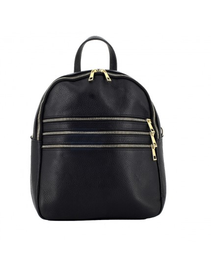 Genuine Leather Woman Backpack - Bessie