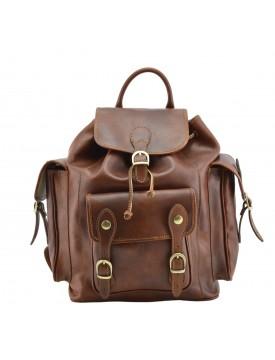 Vegetable Tanned Leather Backpack - Kenve