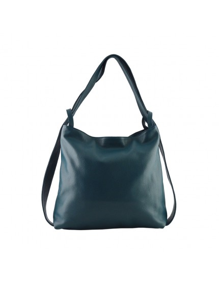 Genuine Leather Shopper Bag and Backpack - Princess