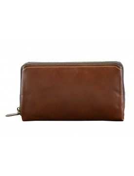 Genuine Leather Unisex Clutch - Dave