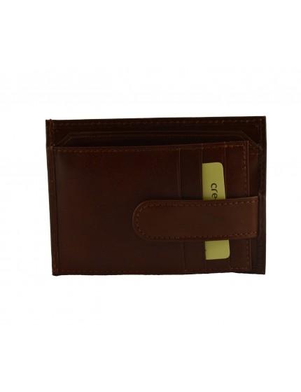 Porta Carte di Credito in Pelle - Mauo