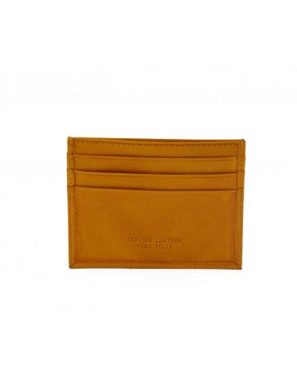 Porta Carte di Credito in Pelle - Lisard