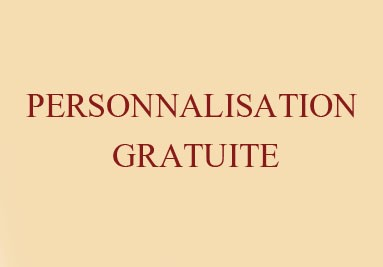 Personnalisation Gratuite